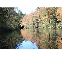 River in the Fall Photographic Print