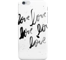 Love, Love, Love iPhone Case/Skin