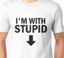 Glee: I'm With Stupid Unisex T-Shirt