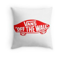 Vans Throw Pillow