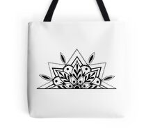 Semi Mandala Tote Bag