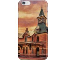 Point Of Rocks Train Station iPhone Case/Skin