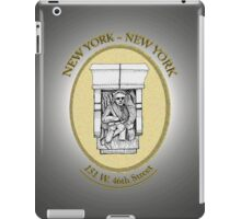NYC building details 1 iPad Case/Skin