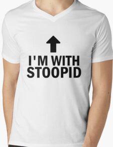Glee: I'm With Stoopid Mens V-Neck T-Shirt