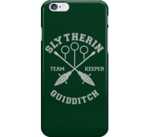 Slytherin - Team Keeper iPhone Case/Skin
