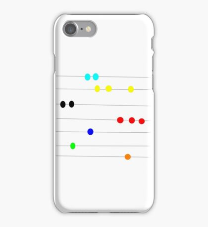BEAD PRIMARY COLOR, abstract art image iPhone Case/Skin