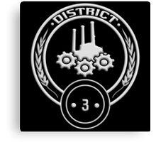 District 3 - Technology Canvas Print