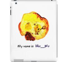 My name is Hiu__Wu iPad Case/Skin