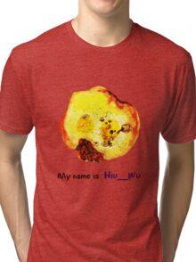 My name is Hiu__Wu Tri-blend T-Shirt