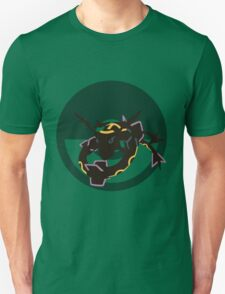 Rayquaza - Sunset Shores T-Shirt