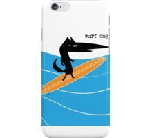 Surf Dog Standing iPhone Case/Skin