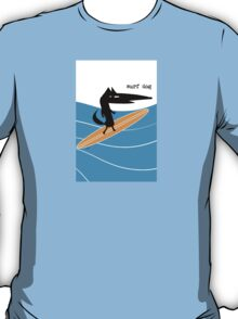 Surf Dog Standing T-Shirt