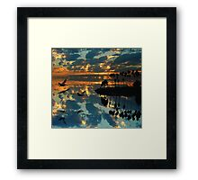On the Surface Framed Print