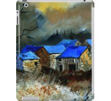 Remote houses iPad Case/Skin