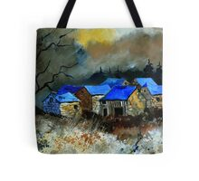 Remote houses Tote Bag