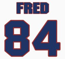 National football player Fred Baxter jersey 84 by imsport