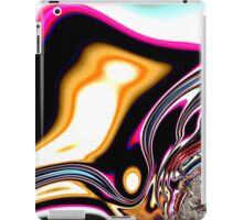 COLORFUL PSYCHEDELIC, modern ABSTRACT fractals iPad Case/Skin