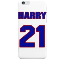 National football player Harry Colon jersey 21 iPhone Case/Skin