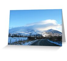 Lake District National Park #1 Greeting Card