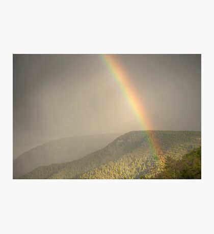 Raining Bow Photographic Print