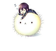 Yato having a nap by NaLu