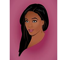 Nicole Beharie Photographic Print