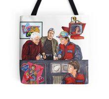 Hey McFly!?! Back to the Future II Tote Bag