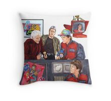 Hey McFly!?! Back to the Future II Throw Pillow