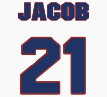 National football player Jacob Lacey jersey 21 by imsport