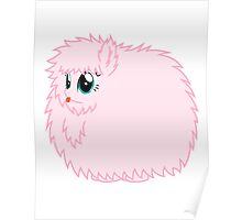 Fluffle Puff Stare Poster