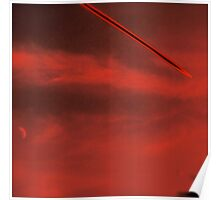 'Mars Contrails' Poster