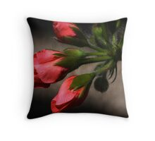 Beauty Emerging Throw Pillow