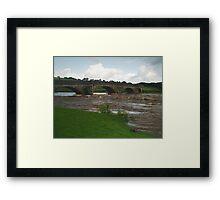 Burnsall Bridge Framed Print