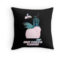 BBFs Throw Pillow