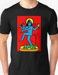 Dancing Shiva Keith Haring Tribute T-Shirt