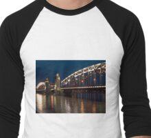 Evening Saint-Petersburg Men's Baseball ¾ T-Shirt