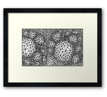 Three Vertices & Three Edges Framed Print