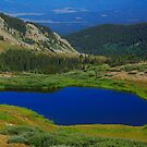 Tarn at Cottonwood Pass by Paul Gana