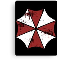 Fight against zombies! Canvas Print