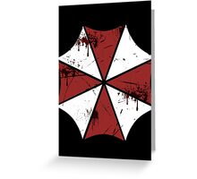 Fight against zombies! Greeting Card
