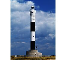 Lighthouse - Dungeness Photographic Print