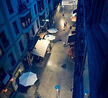 Bilbao Street Scene by Brent Olson
