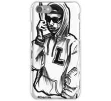 Old School Mobile Cell with a Thug iPhone Case/Skin