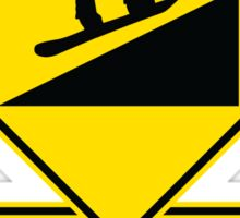 Use Low Gnar - Snowboarder Sticker