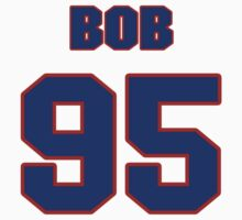 National football player Bob Hamm jersey 95 by imsport