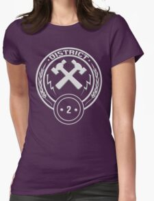 District 2 - Masonry Womens Fitted T-Shirt