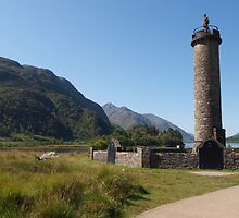 Glenfinnan Monument by kalaryder