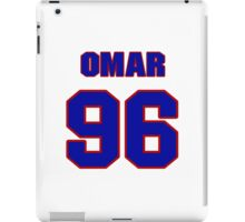 National football player Omar Gaither jersey 96 iPad Case/Skin