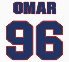 National football player Omar Gaither jersey 96 by imsport