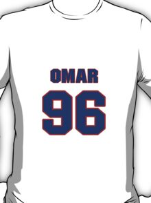 National football player Omar Gaither jersey 96 T-Shirt